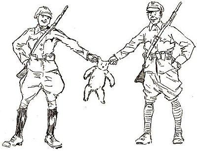 miś i polscy żołnierze