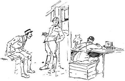 miś w koszarach żołnierskich