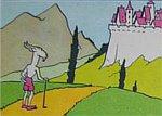 zamek i góra