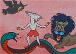 smok, lew i ptak