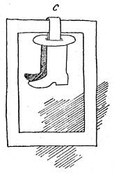 łamigłówka buty w ramce - ostateczny wygląd